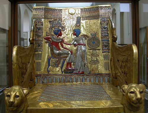 tuts-throne