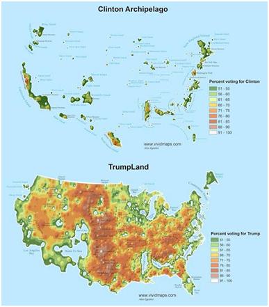 clinton-trump-map