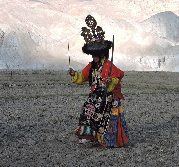 The High Lama of the Kingdom of Lo