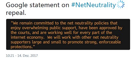 googlestmt-on-netneutrality