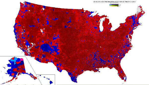 2016 United States Presidential Election by Precinct