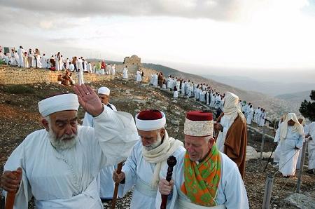 Samaritans on Mount Gerizim