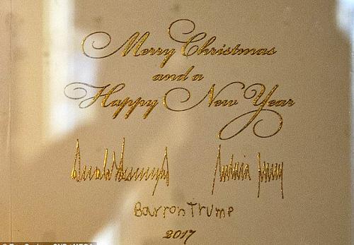 trump-family-xmas-card