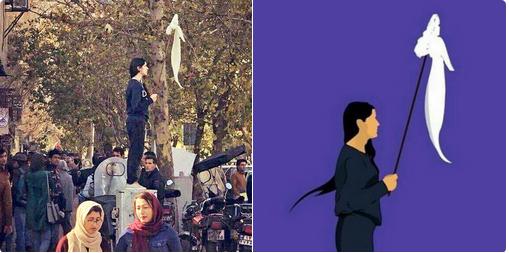 hijab-on-a-pole
