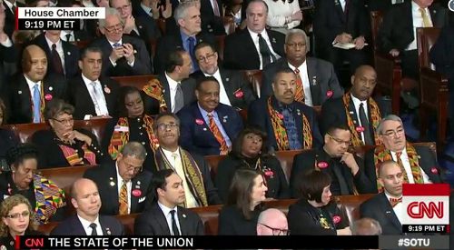 Sitting on their hands as Trump proclaims record low black unemployment