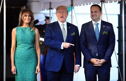 trump-welcomes-leo-varadkar
