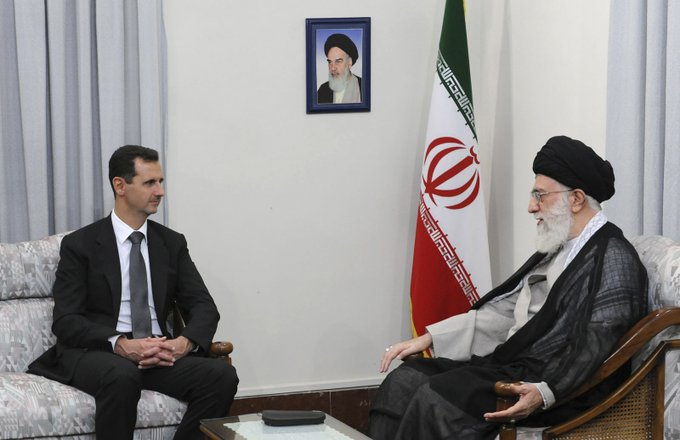 assad-and-iran-leader