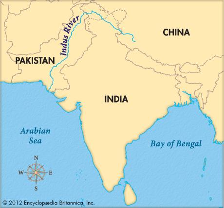 indus-river-valley-on-map