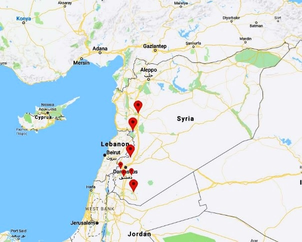 lebanon-on-map