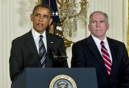 Obama and his CIA Director John Brennan