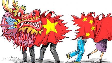 china-splitting