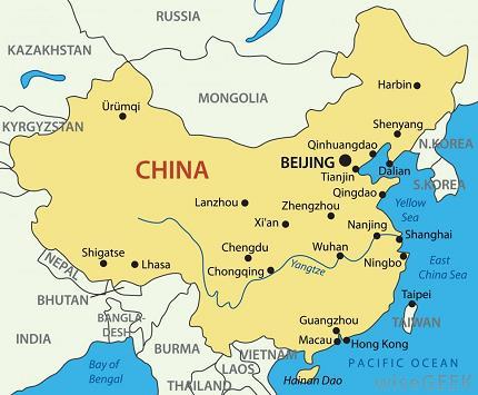 harbin-in-china-map