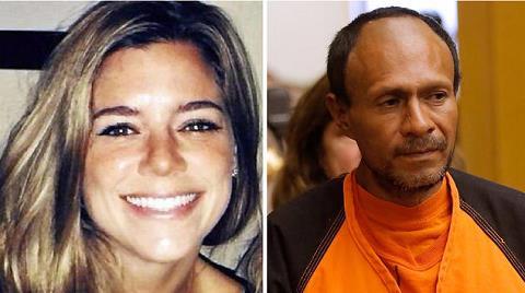 Kate Steinle and her illegal alien murderer Jose Garcia Zarate