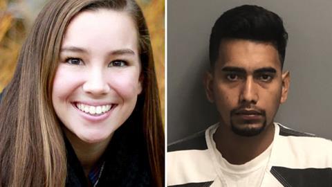 Mollie Tibbetts and her illegal alien murderer Cristhian Bahena Rivera