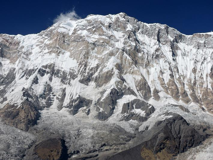 Annapurna I, 10th highest mountain in the world, 8091m/26,538ft