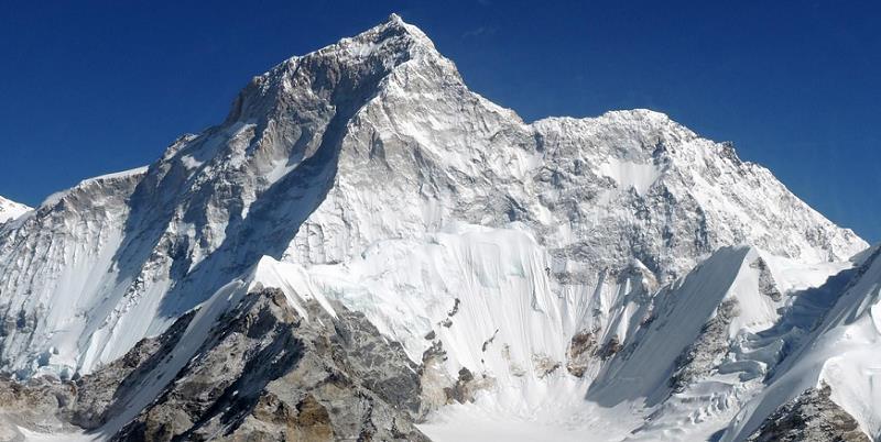 Makalu, 5th highest mountain in the world, 8485m/27,830ft