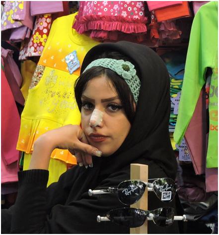 persian-woman-nosejob
