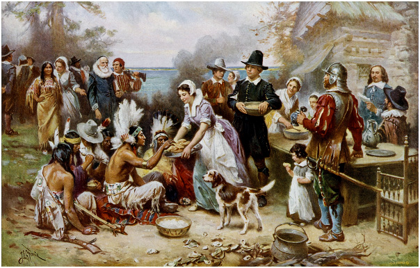 America's First Thanksgiving – Plymouth Rock 1623