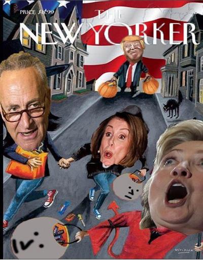 newyorkers-halloween-election