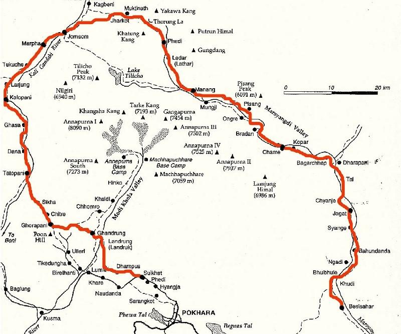 annapurna-trek-map