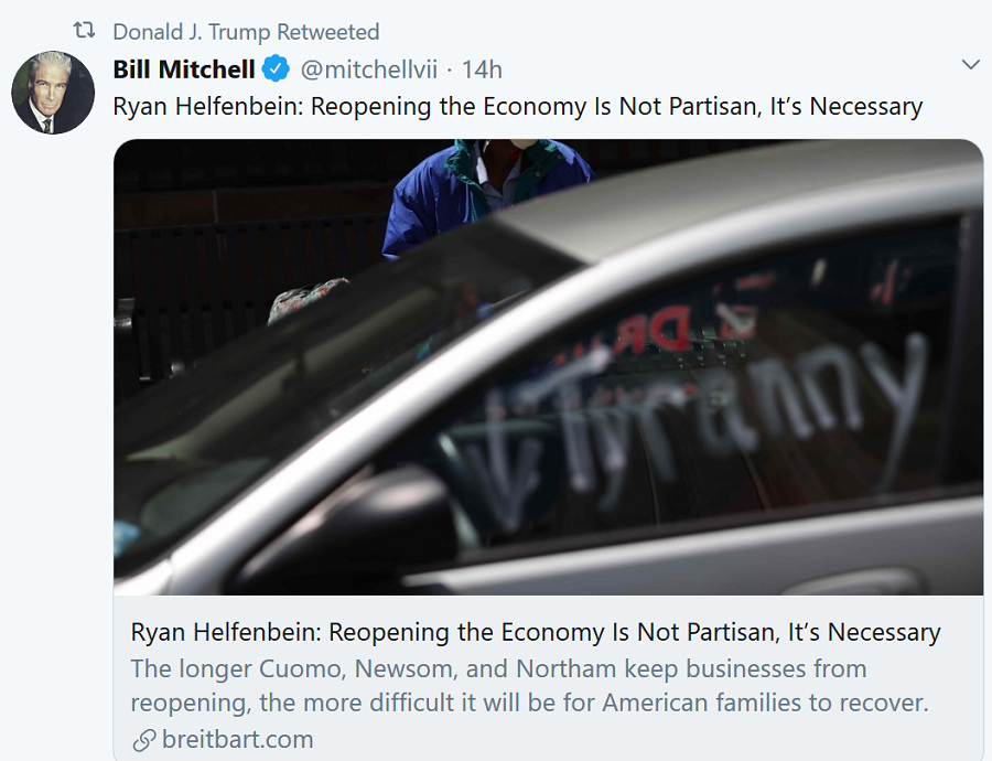 bill-mitchell-tweet-on-reopening-country