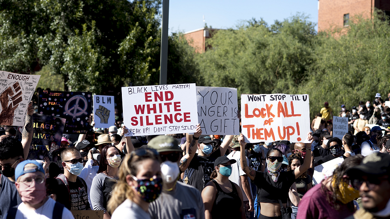 white-silence-protest