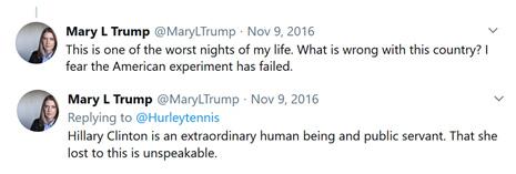 marytrump-election-tweets