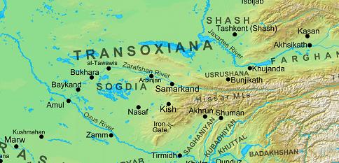 transoxiana-on-map